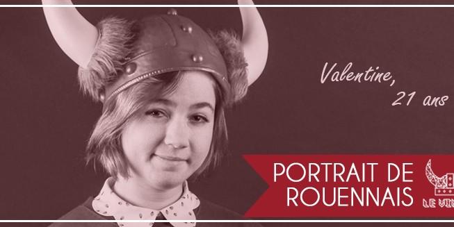 Portrait de Rouennais - Valentine