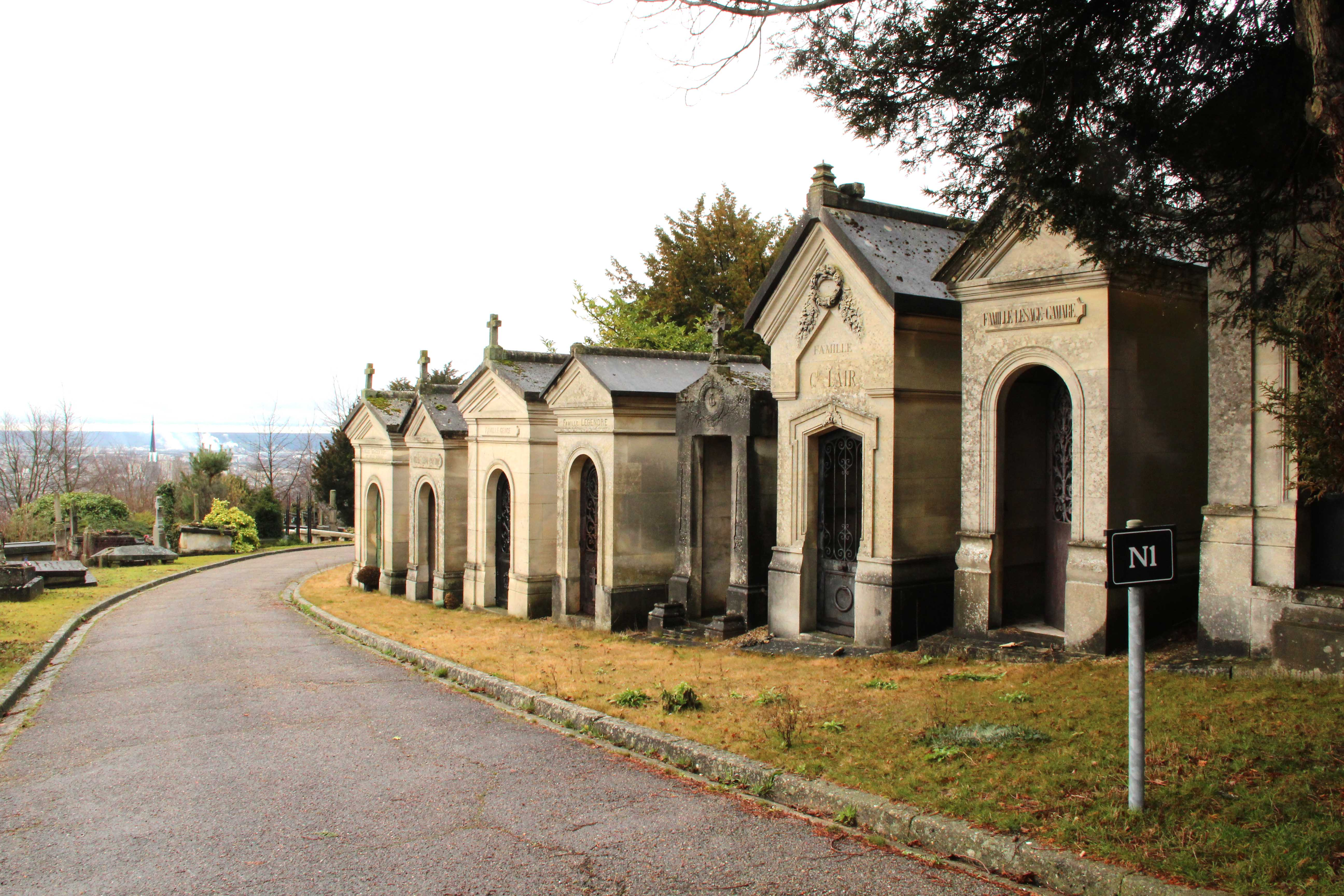 Cimetière monumental Rouen