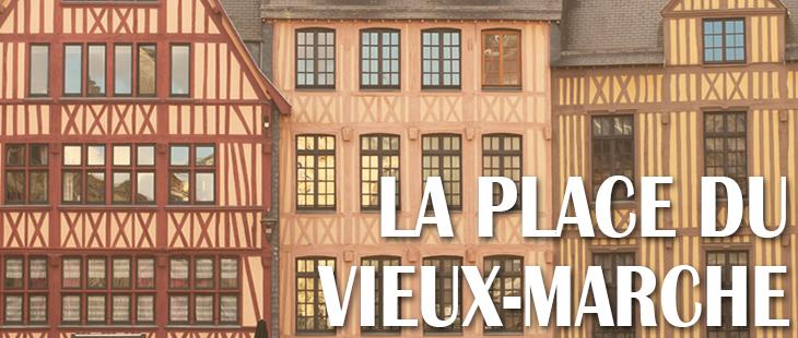 Place du Vieux-Marché Rouen Le Viking