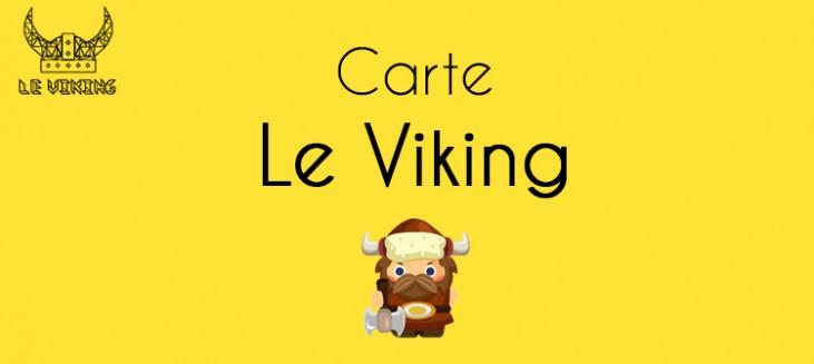 Carte Le Viking réductions guide gratuit de Rouen