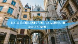 Les 10 événements à faire à Rouen en 2020